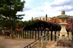 Miyajima bridge