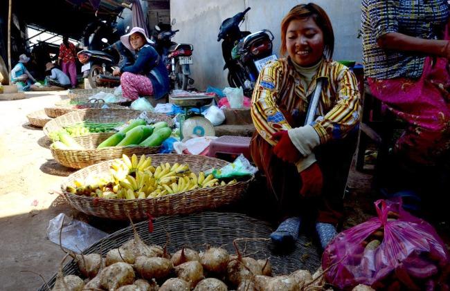 Village market, Siem Reap