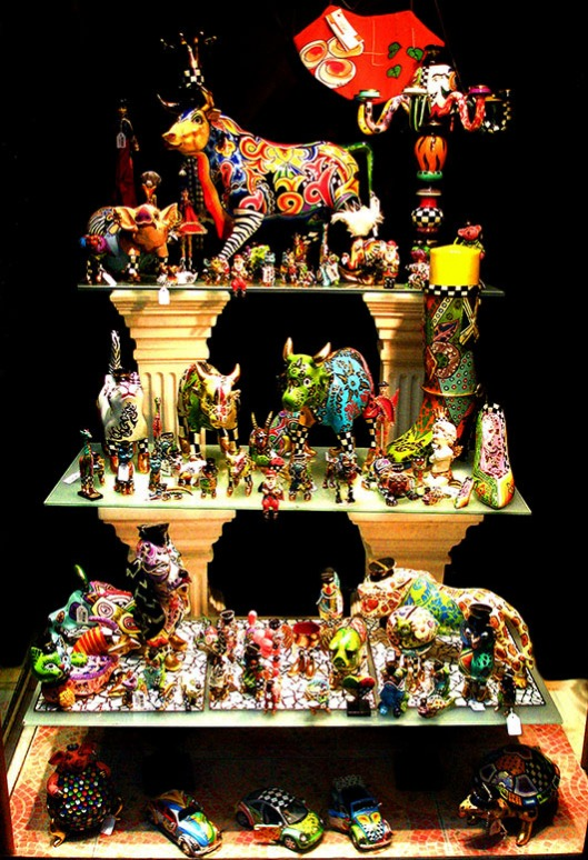 Painted ceramics, Barcelona