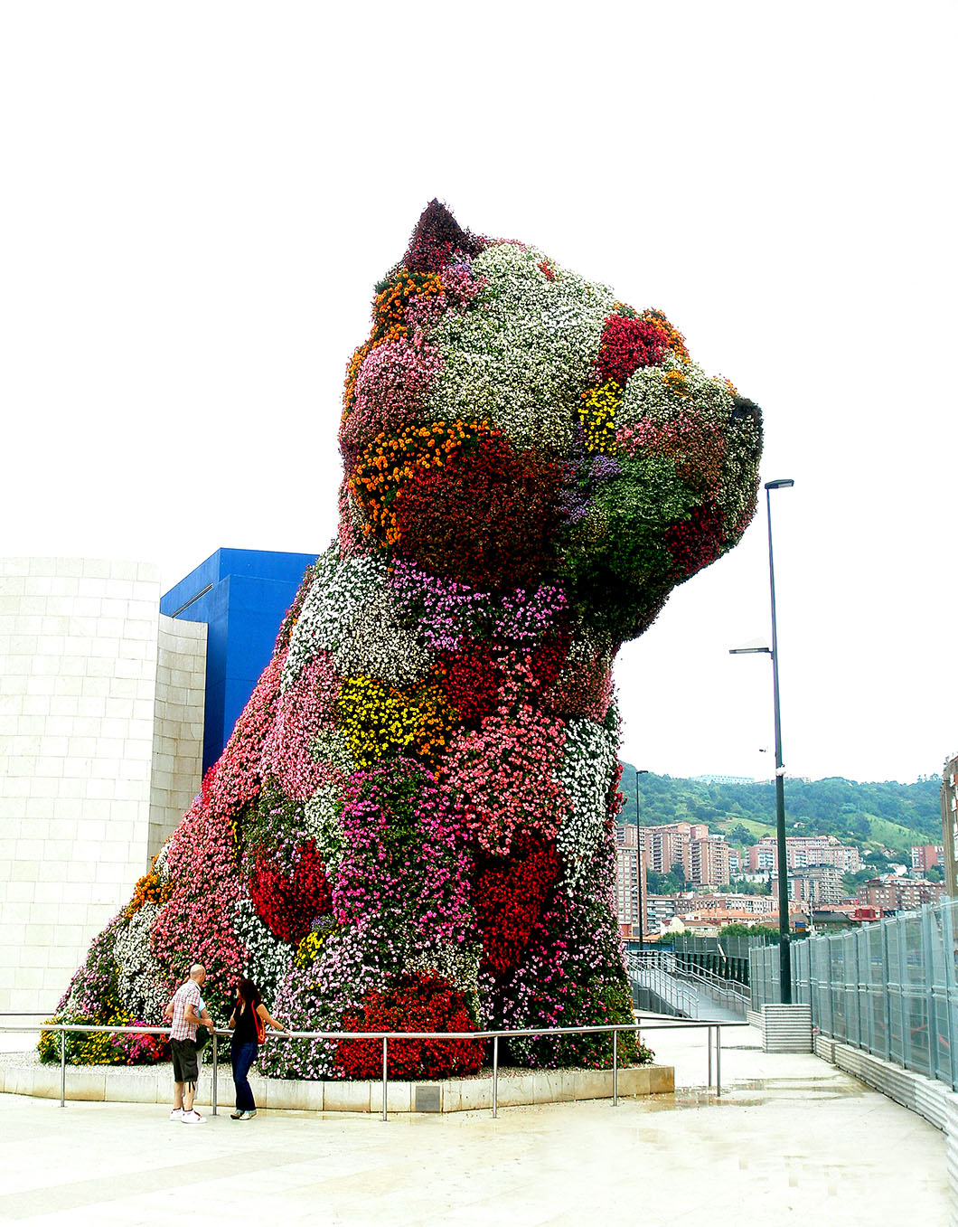 Jeff Koons' Puppy