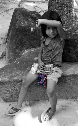 Little girl, Siem Reap