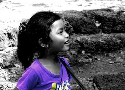 Little girl, Siem Reap