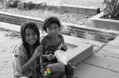 Little girls, Siem Reap
