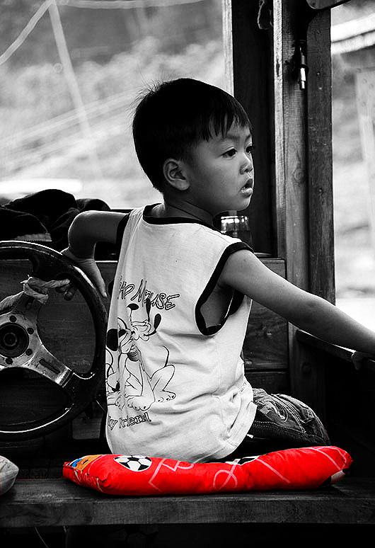Little boy Luang Prabang