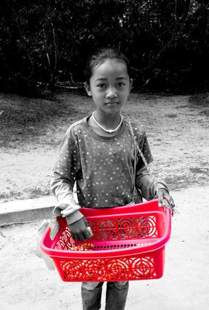 Little Girl in Siem Reap