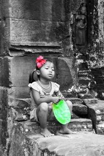 Little girl, Cambodia