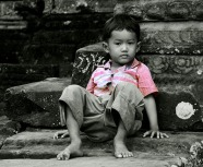 Little boy, Cambodia