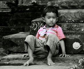 Little boy, Cambodia