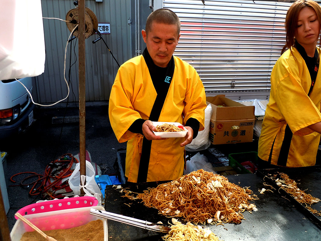 Soba Noodles in Takayama