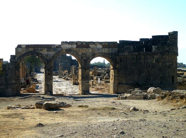 Domitian gate, hieropolis