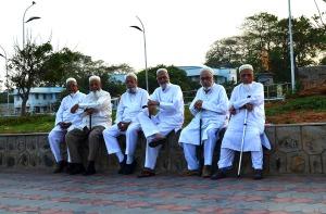 Friends on the Marina - Chennai, India