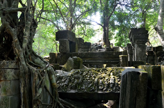 The lost temple of Beng Mealea