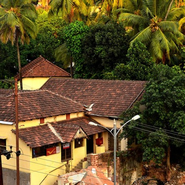 Traditional tile roofed houses of Mangalore