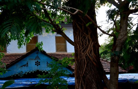Tile roofed house in Mangalore