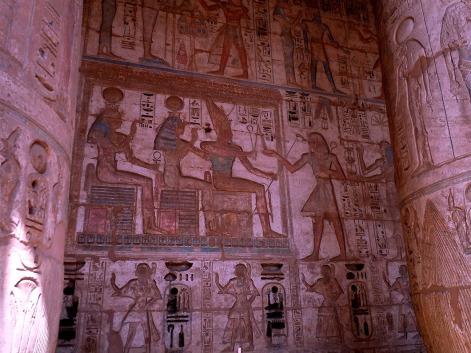 Medinat Habu Wall reliefs