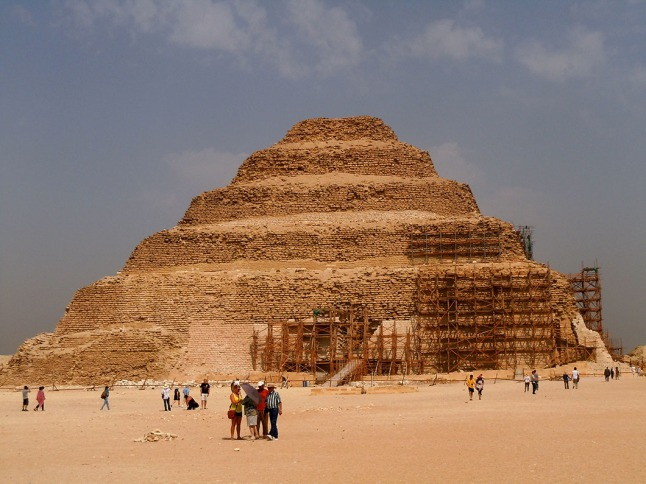 Stepped pyramid of Djoser in Giza, Egypt