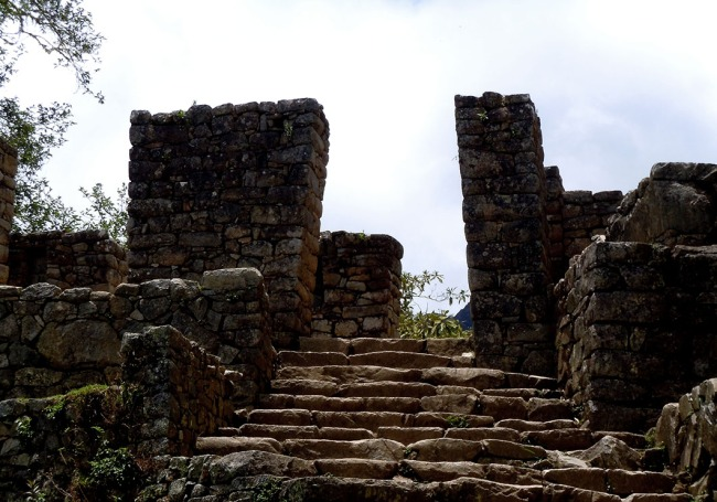 Inti Punku or Sun Gate, the ancient access point to the Sanctuary of Machu Pichu.