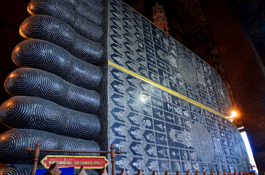 Feet of the Reclining Buddha, Bangkok
