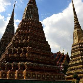 Memorial Chedis Wat Pho Bangkok