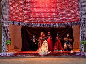 Rajasthani Puppets - Choki Dhani, Chennai