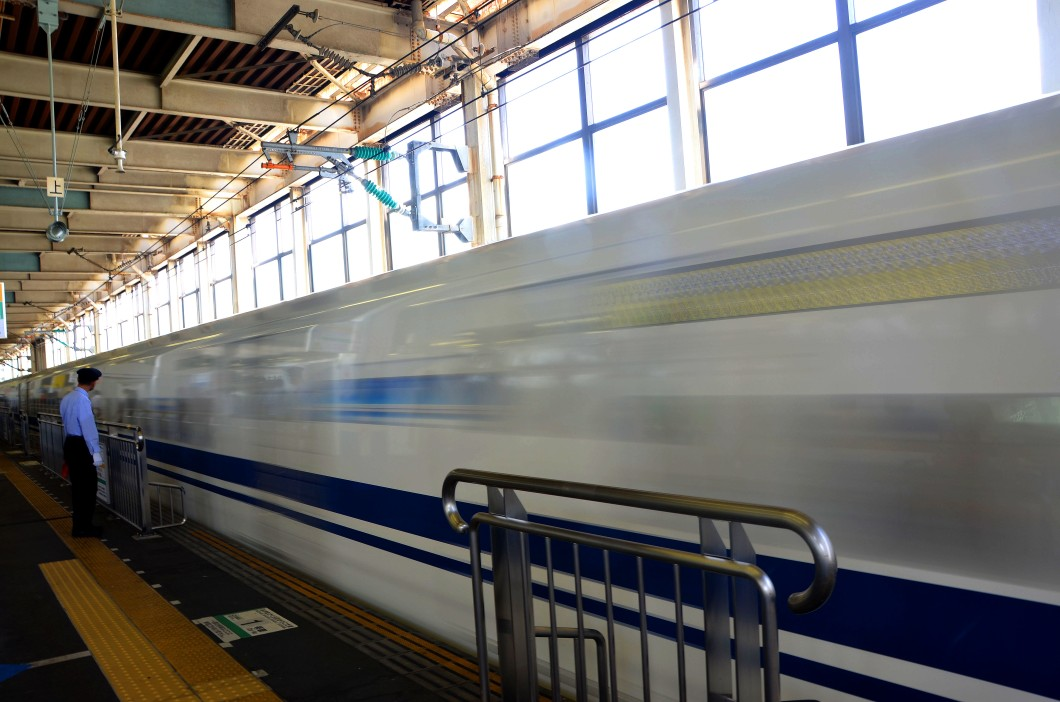 Bullet train, Hiroshima