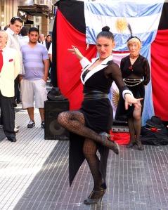 Sreet Tango, Florida Street - Buenos Aires, Argentina