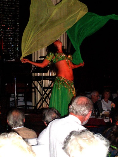 Belly dancer - Istanbul, Turkey