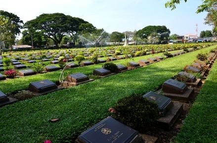 War cemetery - Kanchanaburi,