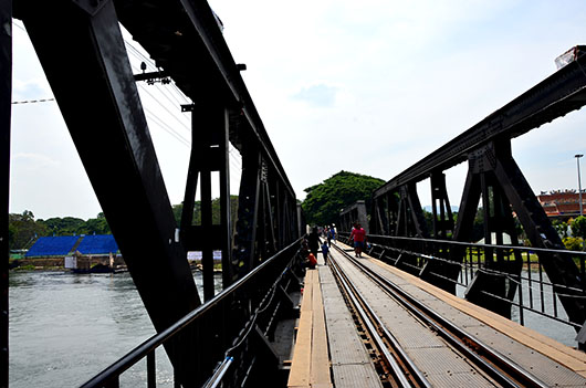 The bridge on the 'river Kwai'