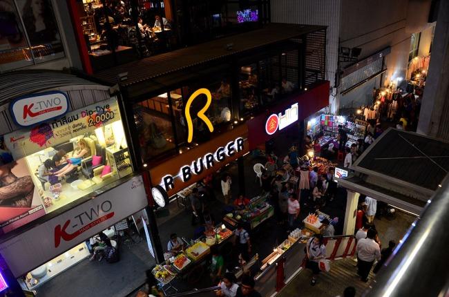Siam Street Night Market - Bangkok, Thailand