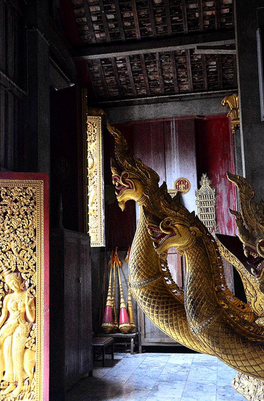 Nagas, Wat xieng Thong - Luang Prabang, Laos