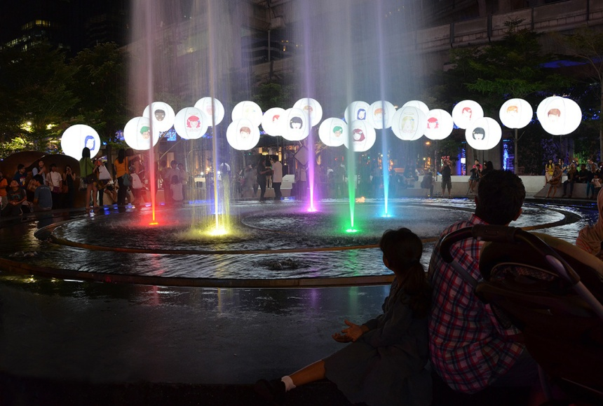 Central square - Bangkok