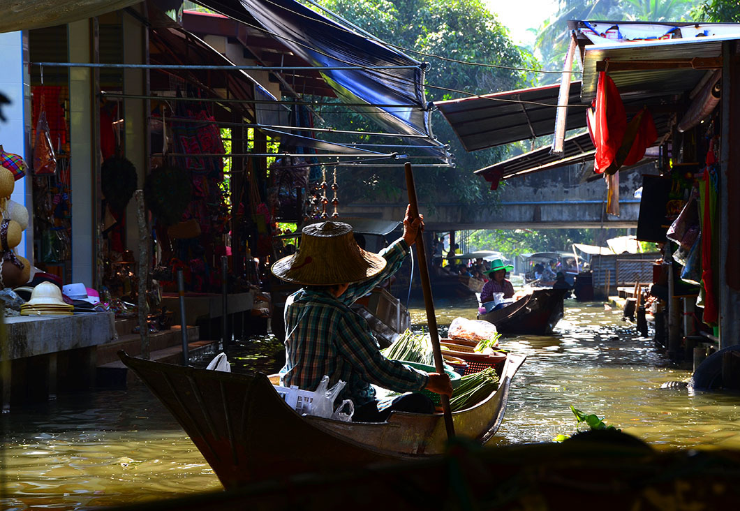 Floating Market , Bangkok