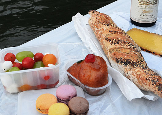 Picnic on the Seine - Paris
