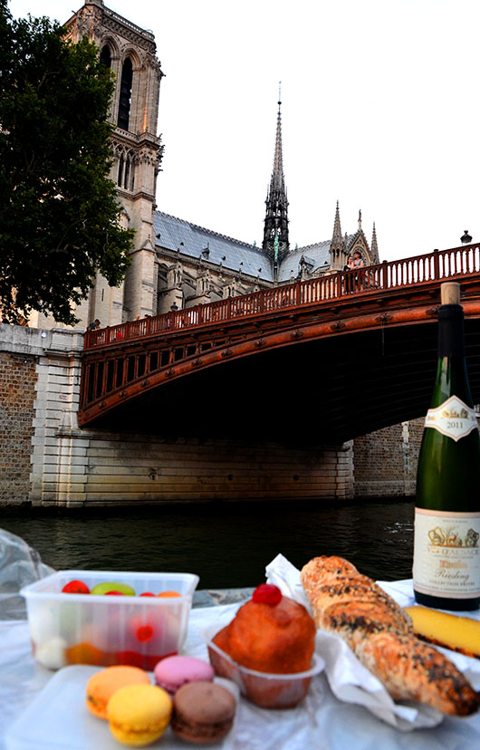 Paris - Picnic on the Seine