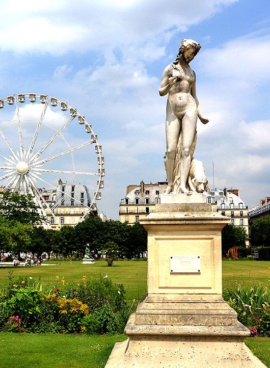 Nymphe & Roue - Jardin des Tuilieries, Paris
