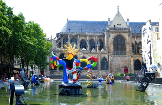 Stavinsky Fountain, Place Igor Stavinsky, Paris