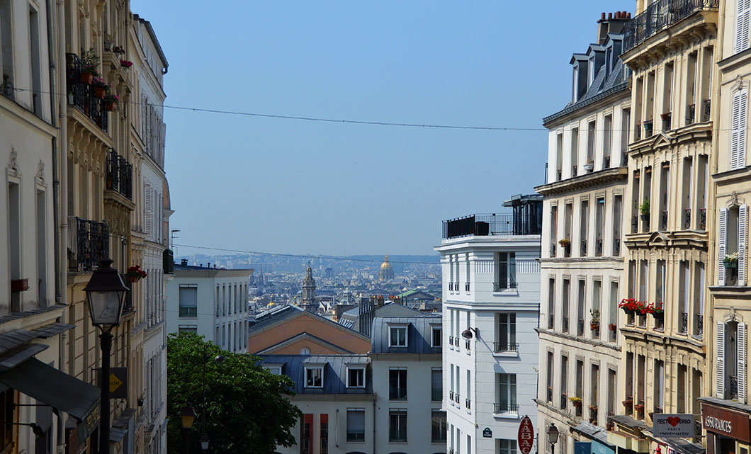 View from Montmarte, Paris