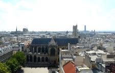 View from Centre Pompidou, Paris