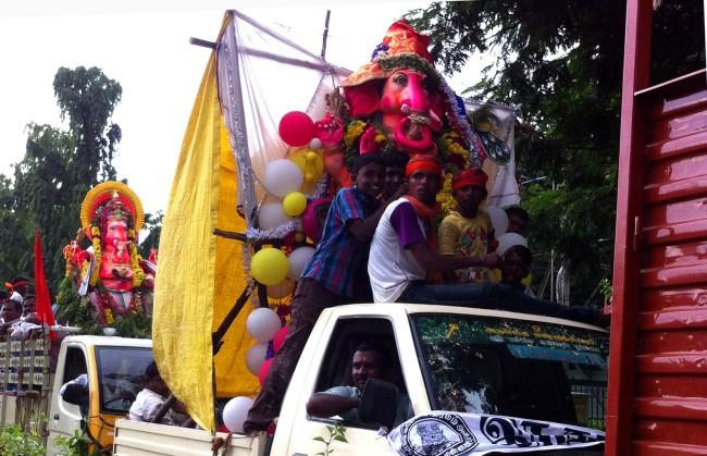 Ganesh procession - Chennai, India