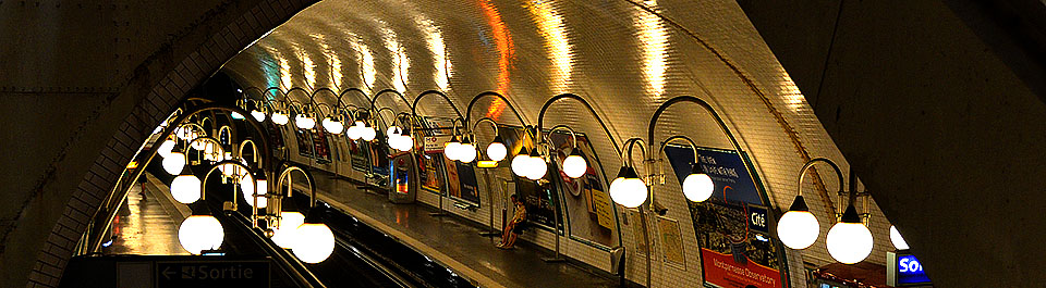 Metro Station Cité - Paris