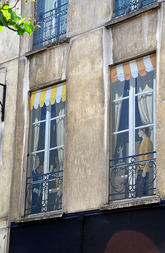Trompe l'oeil windows- Paris