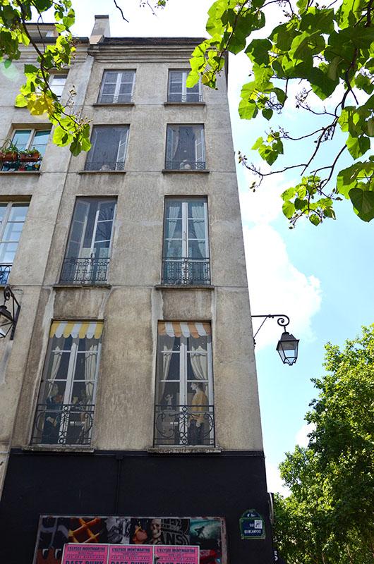 Trompe l'oeil windows- Paris
