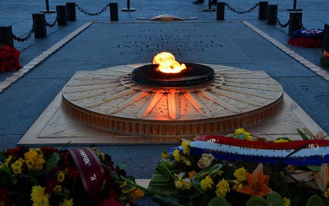 Eternal Flame - Arc de Triomphe in Paris