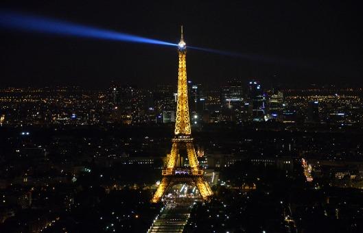 Tour Eiffel from Tour Montparnasse - Paris