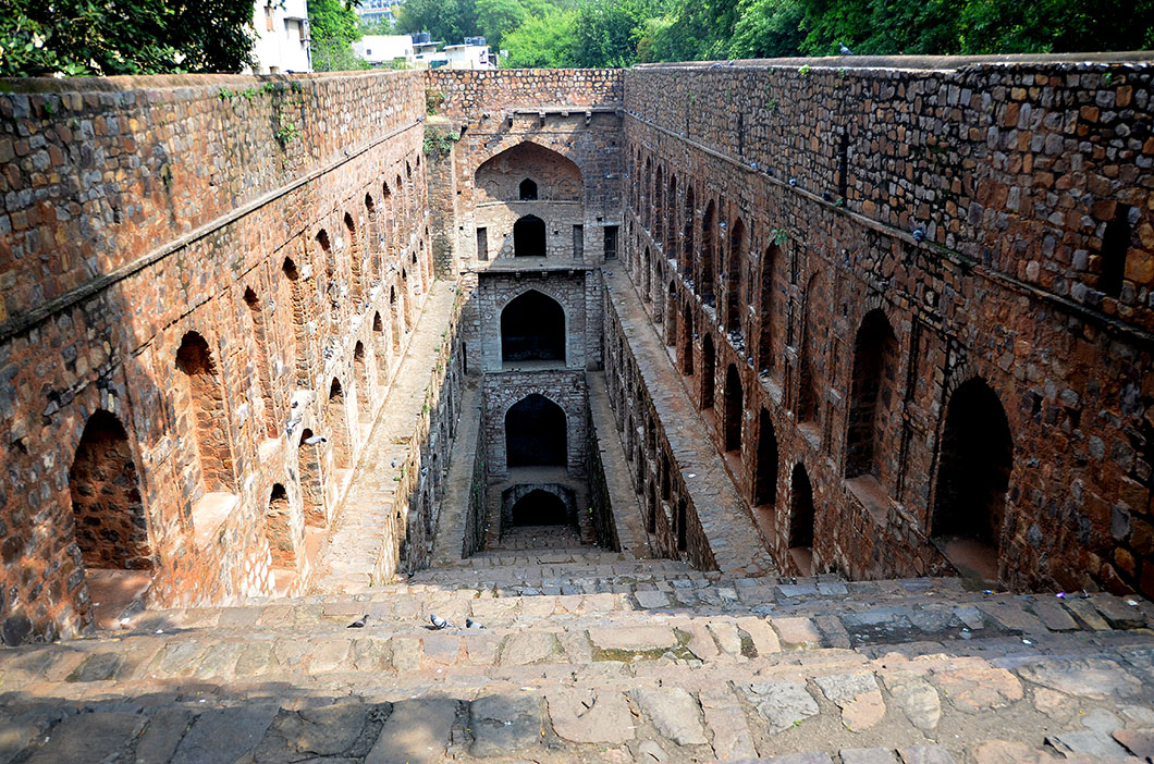 Agrasen ki Baoli - Stepwell in New Delhi
