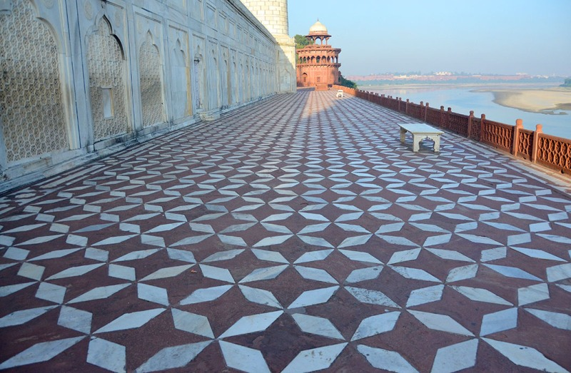 Taj Mahal, - Agra, India