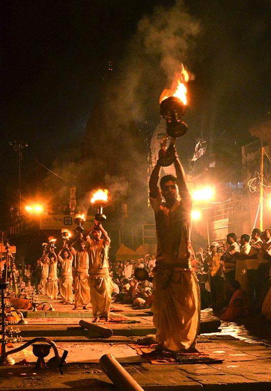 Ganga Aarti - Varanasi, India