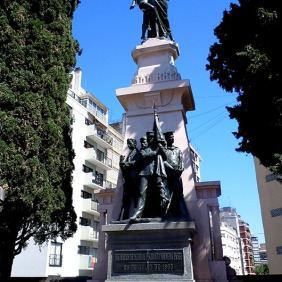 Pantheon of the fallen of the Revolution of 1890 - recoleta