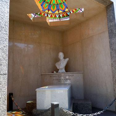 Raul Alfonsin - Recoleta Cemetery